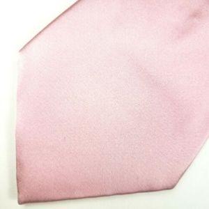 Donald Trump Men's Neck Tie Metallic Light Pink